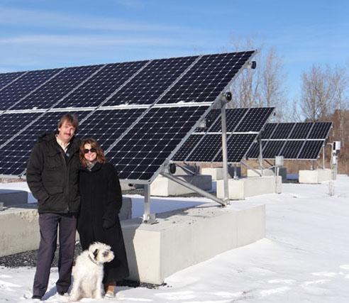 Solar Panels at H. Hirschmann LTD