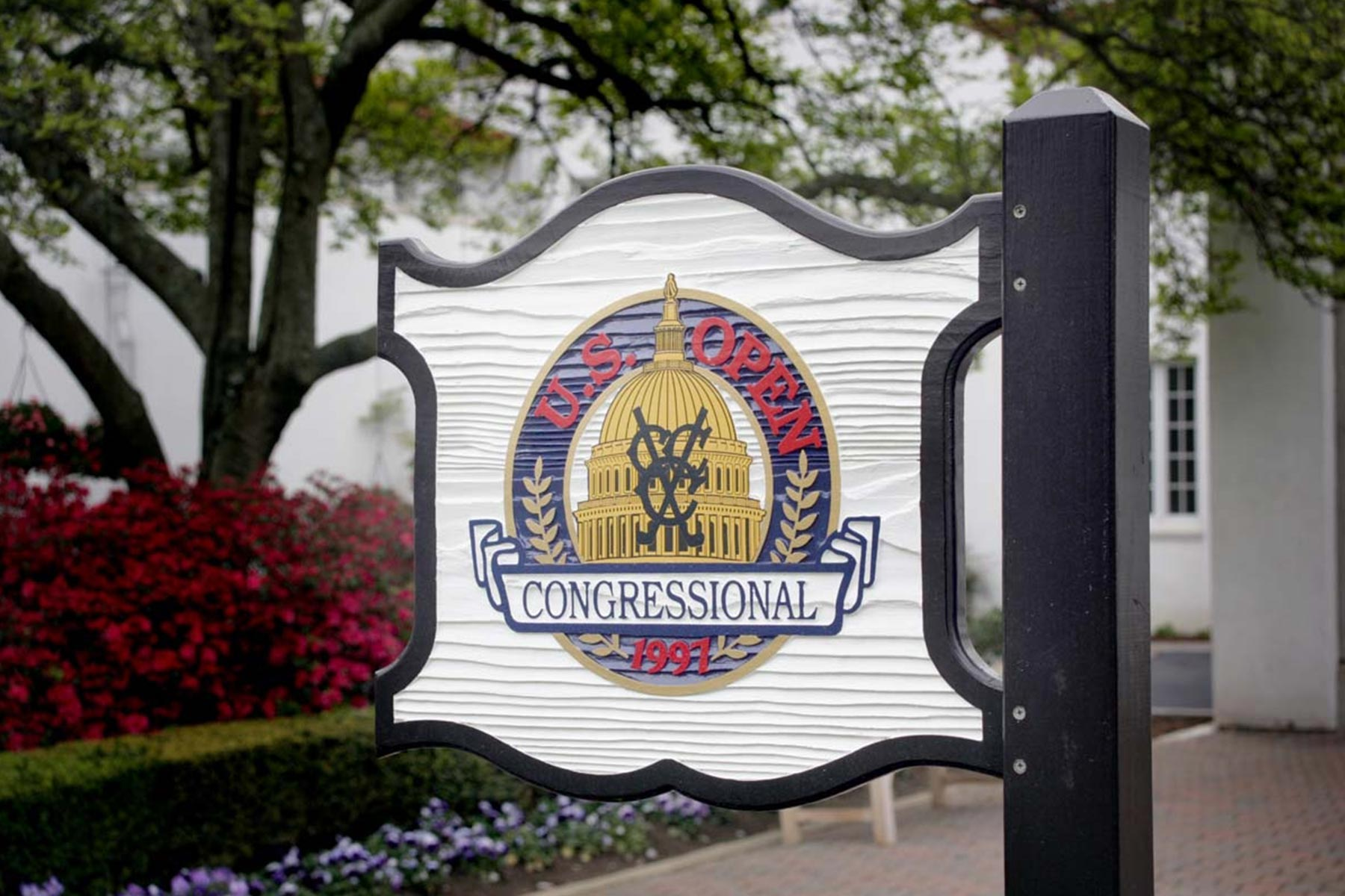 Arched Bent Fixed Windows - Congressional Country Club