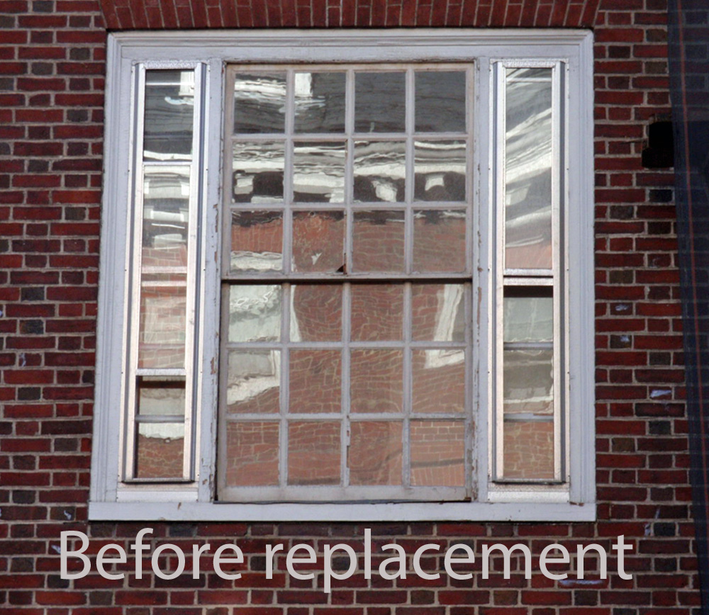 Quincy House, Harvard University, MA – Before Sash Replacement