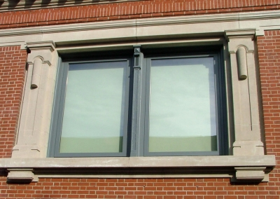 Pivot Windows at Macon Branch Library