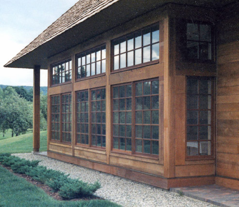 Casement Windows Mahogany/Ash With TDL