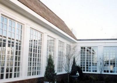 Fixed Mahogany Windows