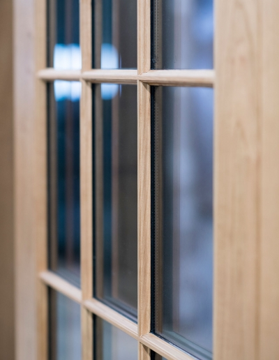 Hirschmann Craftsmanship – Window Closeup
