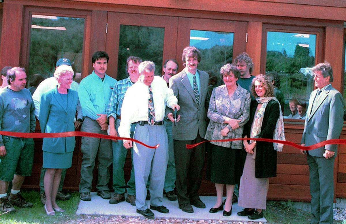 Ribbon Cutting, 2001