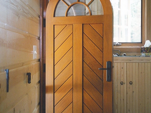 Arched Entrance Door