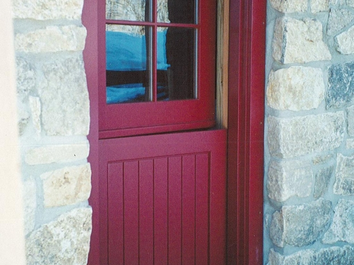 Custom Painted Dutch Door