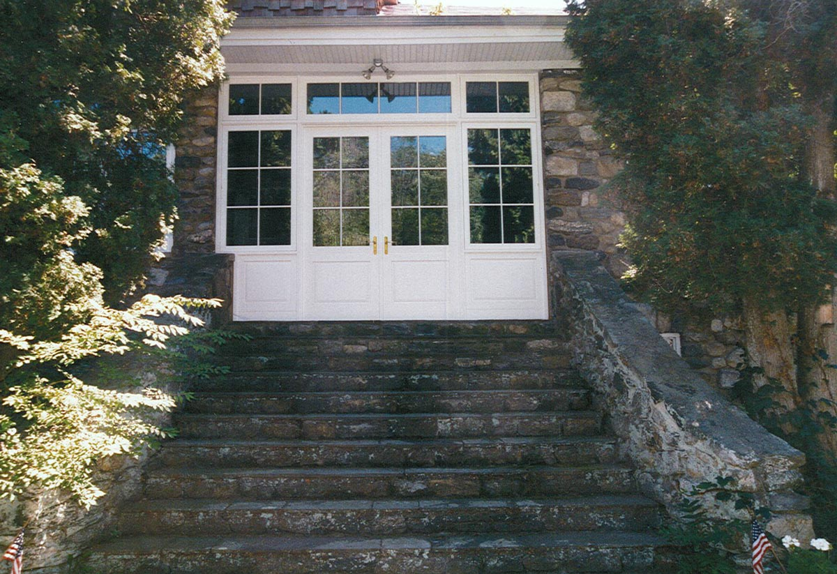 Entrance French Door with Casement Sidelites