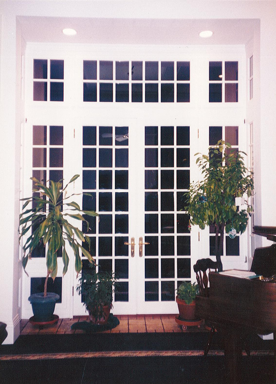 French Door with Fixed Sidelites
