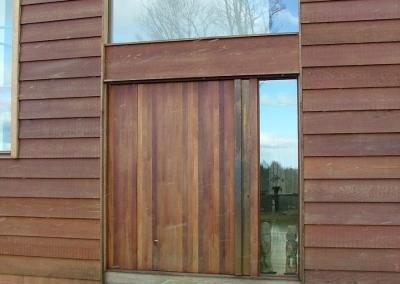 Pivot Plank Entrance Door