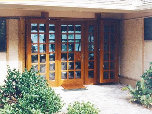 Single Leaf Entrance Door