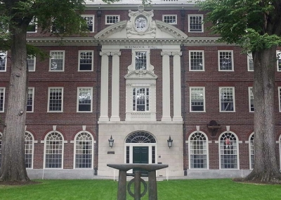 McKinlock Hall, Harvard University, MA