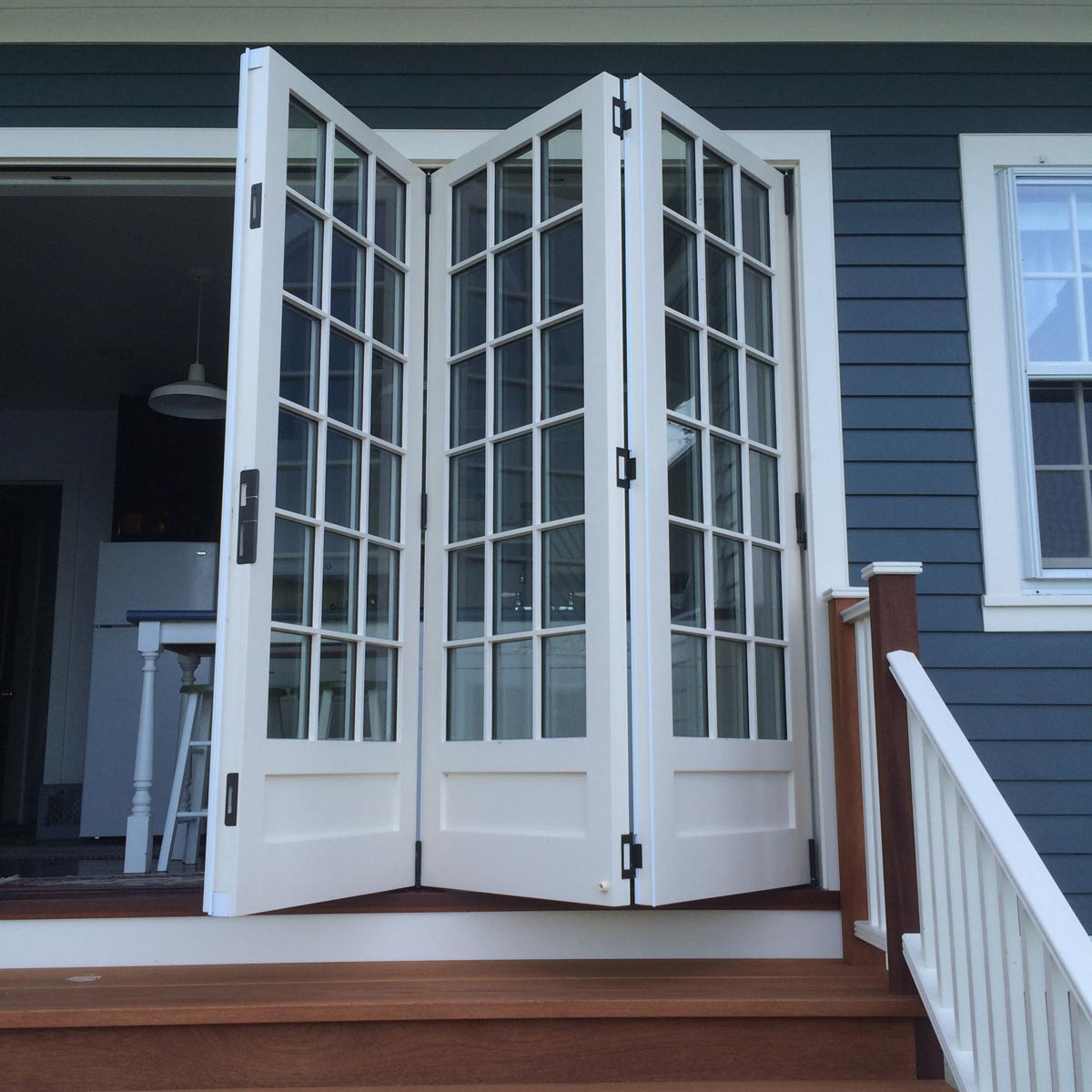 Four-Panel Outswing Folding Door